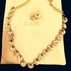 J CREW NECKLACE AND EARING SET